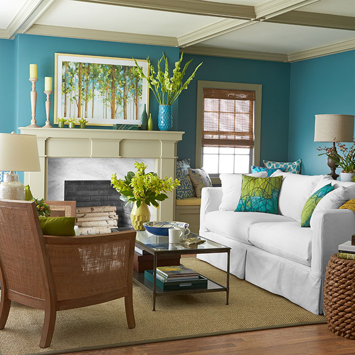 Casual Dining Rooms Decorating Ideas For A Soothing Interior: 1-room-3-color-palettes-102141980