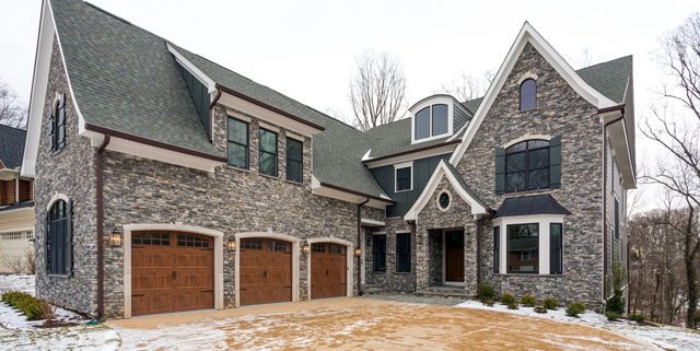 Home Page Gallery - Reel Homes - McLean, VA exterior entrance