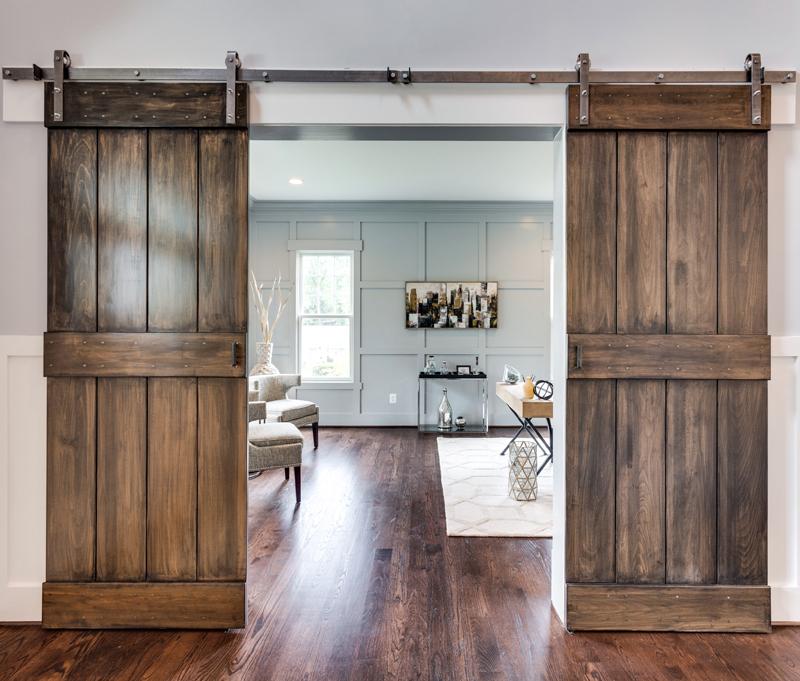 Wooden Barn Doors Reel Homes Reel Homes